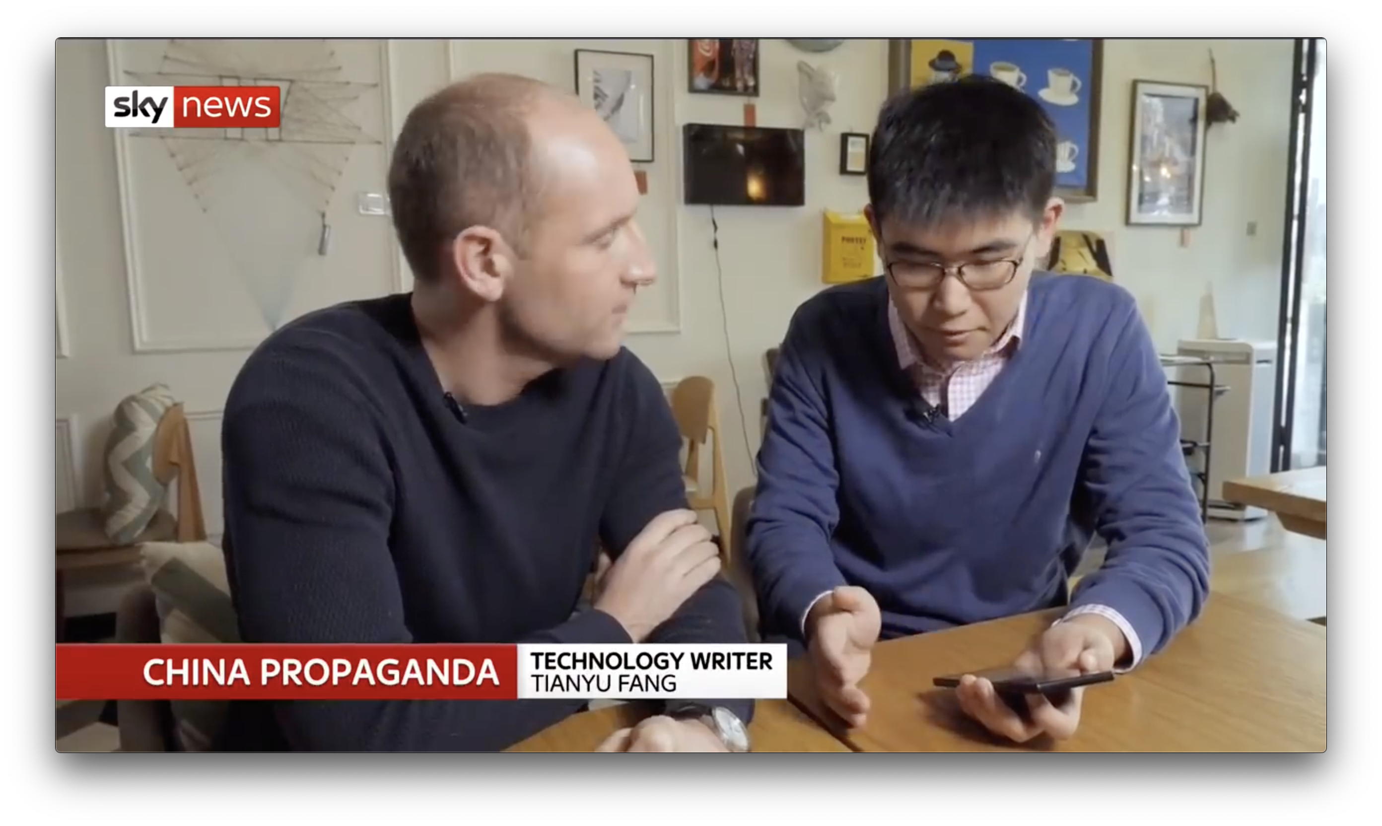 Introducing China's propaganda app on Sky News